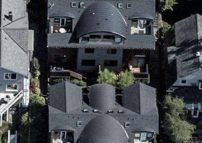 Townhomes in Queen Anne neighborhood of Seattle